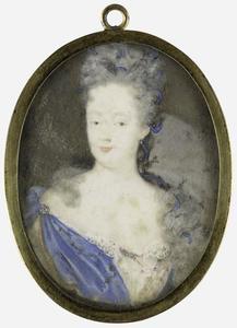 Portret van Henriette Amalia van Anhalt-Dessau (1666-1726)