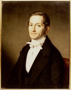 Portret van Petrus van Rossem (1795-1868)