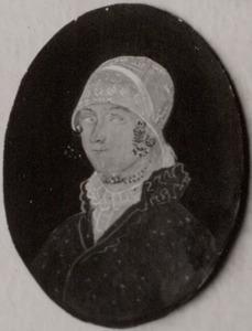 Portret van Arendje Zaaijer (1800-1884)