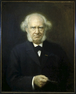 Portret van  J.W. (Jan Willem) Gunning (1827-1900)