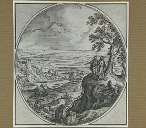 Abram [Abraham] en Lot verdelen het land onderling en gaan elk huns weegs (Genesis 13:1-12)
