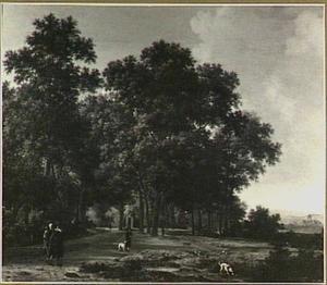 Het Haagse bos met het Huis ten Bosch
