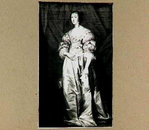 Portret van Henrietta Maria van Bourbon (1609-1669)