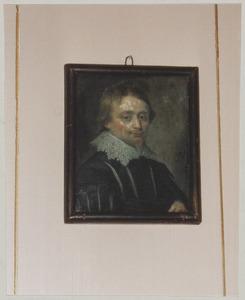 Portret van een man waarschijnlijk Johan Gotschalk van Schurman (1605-1664)