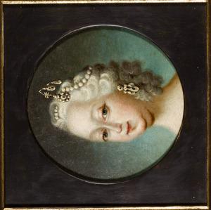 Portret van Louise van Hannover (1724-1751)
