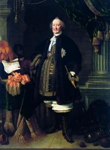 Portret van Johan Maurits van Nassau-Siegen (1604-1679) als ridder van de Johanniterorde