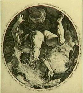 Een van de vier zondaars: Ixion