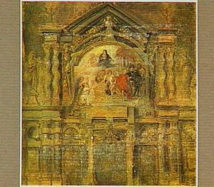 De apotheose van Isabella Clara Eugenia