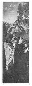 De H. Johannes de Evangelist met  Jan de Trompes en zijn zoon
