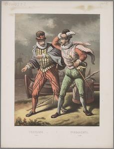 Portret van Willem Bloys van Treslong (1529-1594) en Jerome Tseraerts (?-1573)