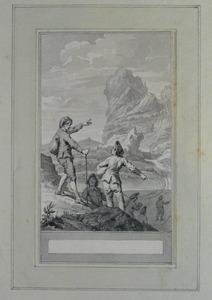 Illustratie bij 'Tyl Uilenspiegel' uit de Fabelen en vertelsels van F.C. Gellert