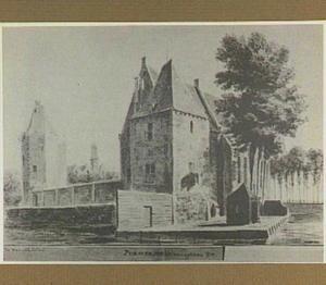 Slot Purmersteijn te Purmerend, achterzijde