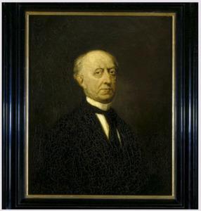 Portret van Carel Johannes Matthes (1811-1882)