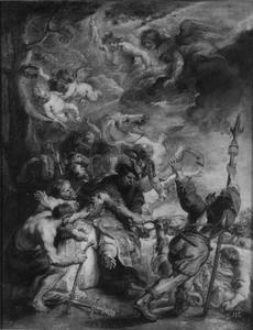 De marteldood van de Heilige Livinus