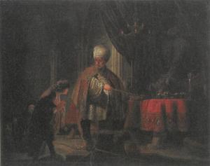 Daniël weigert het afgodsbeeld van Baäl te aanbidden en spreekt met koning Cyrus over de macht van de god (Daniël 14:1-22)