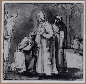 De drie Maria's bij het open graf