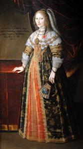 Portret van Markgräfin Henriette Luise von Württemberg (1623-1650)