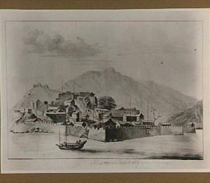 Versterkte stad aan zee in China