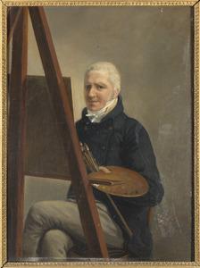 Zelfportret, mogelijk van Jhr. Willem Alewijn (1769-1839)