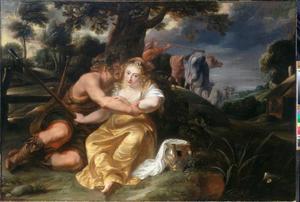 Bucolisch paar