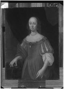 Portret van Maria de Witt (1620-1681)
