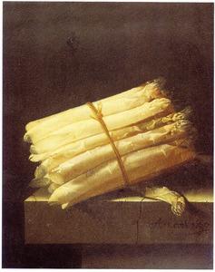 Stilleven met asperges