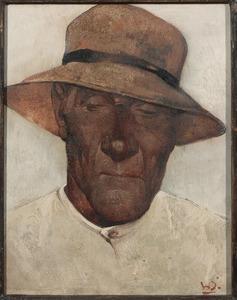 Portret van Willem Hendrik van den Berg (1886-1970)