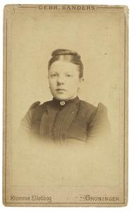 Portret van A. Hellinga