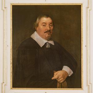 Portret van Charles Tevel