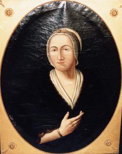 Portret van Maria Luyken (1655-1744)