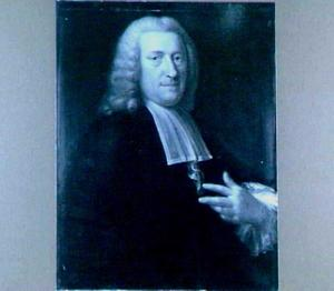 Portret van Christophorus Saxe (1714-1806), hoogleeraar in Utrecht 1753-1803