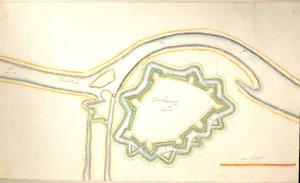 Stadsplattegrond van Doesburg