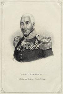 Portret van Gijsbertus Martinus Cort Heijligers (1770-1849)