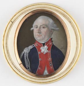 Portret van mogelijk R.T. van Kruissen