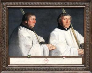 Portretten van de Utrechtse Domheren Cornelis van Horn en Anthonis Taets van Amerongen