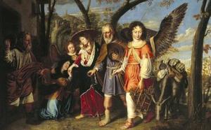 De Aankomst van de heilige familie in Nazareth (Mattheus 2)