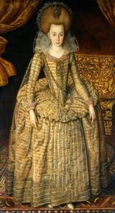 "Portret van Elizabeth Stuart, de ""Winterkoningin"" (1596-1662)"