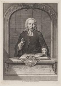 Portret van Wilhelm August Klepperbein (1704-1786)