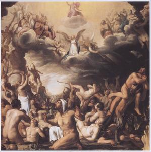 Het Laatste Oordeel: Christus oordeel over de zaligen en de verdoemden