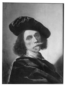 Portret van een man met een baret, wellicht zelfportret