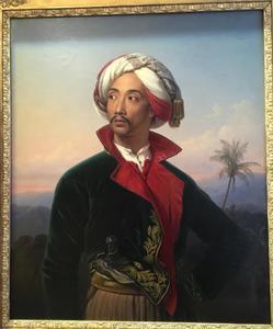 Portret van Sjarif Bastaman Raden Saleh (1811-1880)