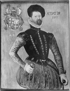 Portret van Jan Pieck van Tienhoven (1528-1572)