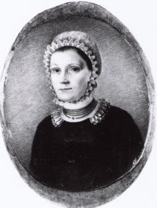 Portret van Maria Estoopey (1786-1866)