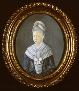 Portret van Cornelia Stavenisse Pous (1752-1777)
