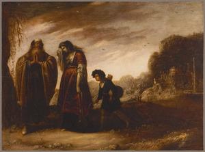 De wegzending van Hagar en Ismaël (Genesis 21:8-21)