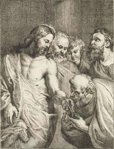 Christus overhandigt Petrus de sleutels
