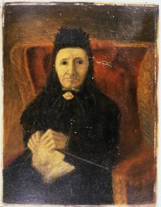 Portret van Hendrika Cornelia van Langelaar (1819-1906)