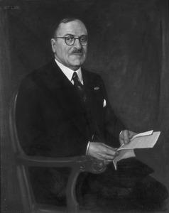 Portret van Jacobus Alphonsus Antonius Maria de Gruijter (1875-1940)