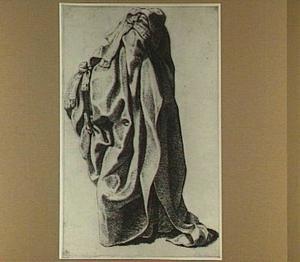 Studie van een draperie, geschikt alsof gedragen door een staande man