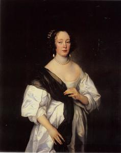 Portret van Dorothy, Lady Dacre (?-1689)